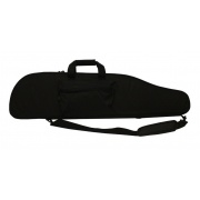 gun bag black heavy duty with egg foam small