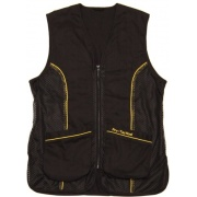 pro-tactical black shooting vest clay target
