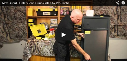 Key Lock Gun Safe