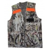 camo vest neon strip 4 pocket